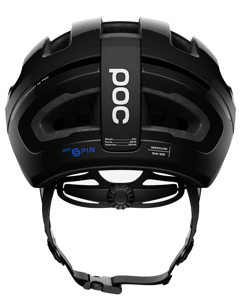 Велосипедный шлем POC OMNE AIR SPIN black 4 OMNE AIR SPIN black