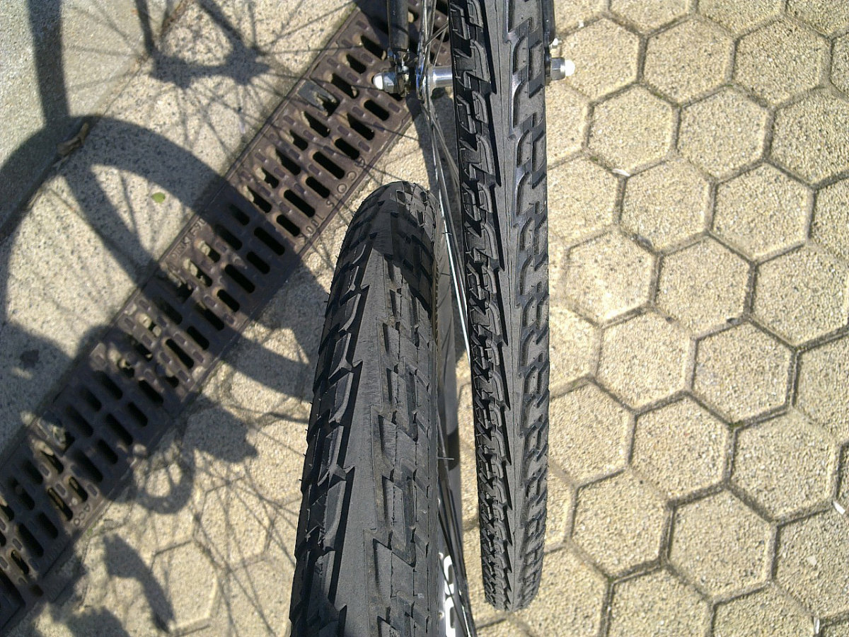 "Покрышка Continental Ride Tour, 26""x1.75, 47-559, Wire, ExtraPuncture Belt черно-белая 4 Ride Tour"
