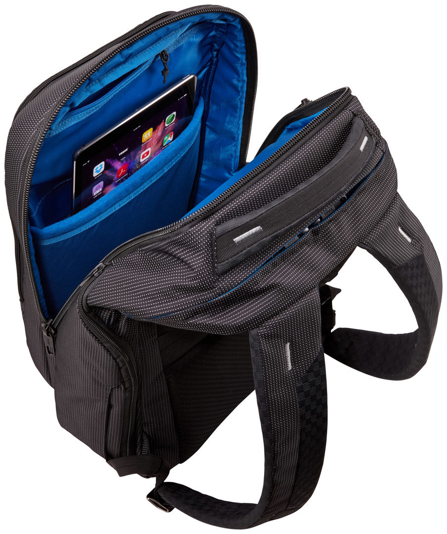 Рюкзак Thule Crossover 2 Backpack 30L Dress Blue 4 Рю3кзак T1hule Crossover 2 Backpack 30L Black TH 3203836