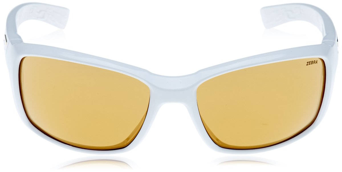 Очки Julbo Whoops Shiny white Reactiv Zebra Yellow/Brown 4 Whoops J4003110