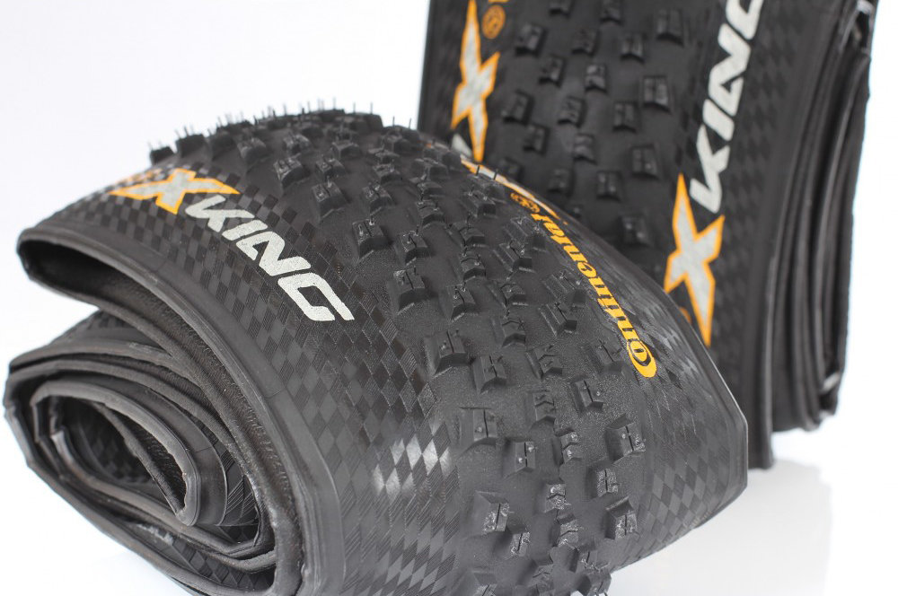 "Покрышка Continental X-King 27.5""x2,2 Foldable, PureGrip, Performance, Skin 4 X-King"