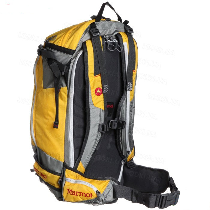 Рюкзак Marmot Backcountry 30 Spectra Yellow/Slate Grey 40 MRT 26680.9411