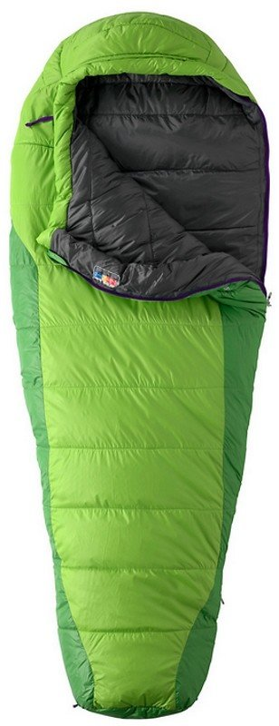 Спальный мешок Marmot Sunset 30 Abstract Green/Dark Grass, Right Zip 41 MRT 21670.4462-RZ