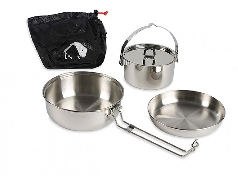 Набор посуды Tatonka Small Pot Multi Set 1.4л. Silver 43 TAT 4014.000