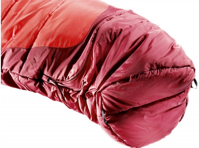 Спальник Deuter Starlight EXP левая молния цвет 5520 fire-cranberry 3720115 5520 1 4 3720115 5520 1