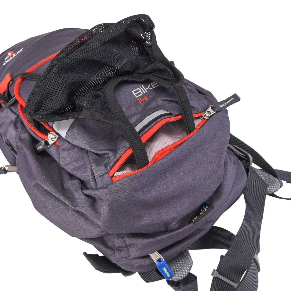 Рюкзак Deuter Bike I 14 graphite-papaya (4906) 4 3203117 4906