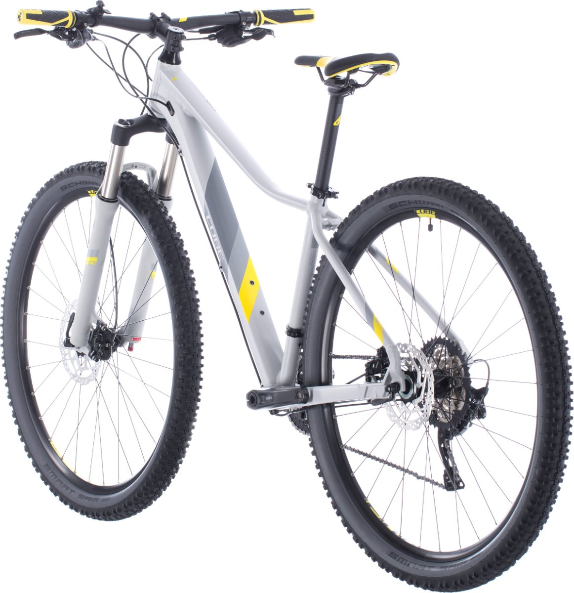 Велосипед Cube Access WS Race grey'n'lime 5 Access WS Race
