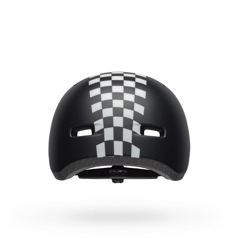 Шлем Bell Lil Ripper Chekers Matte Black White 5 Bell Lil Ripper CLOWN FISH MATTE GRAY-BLUE