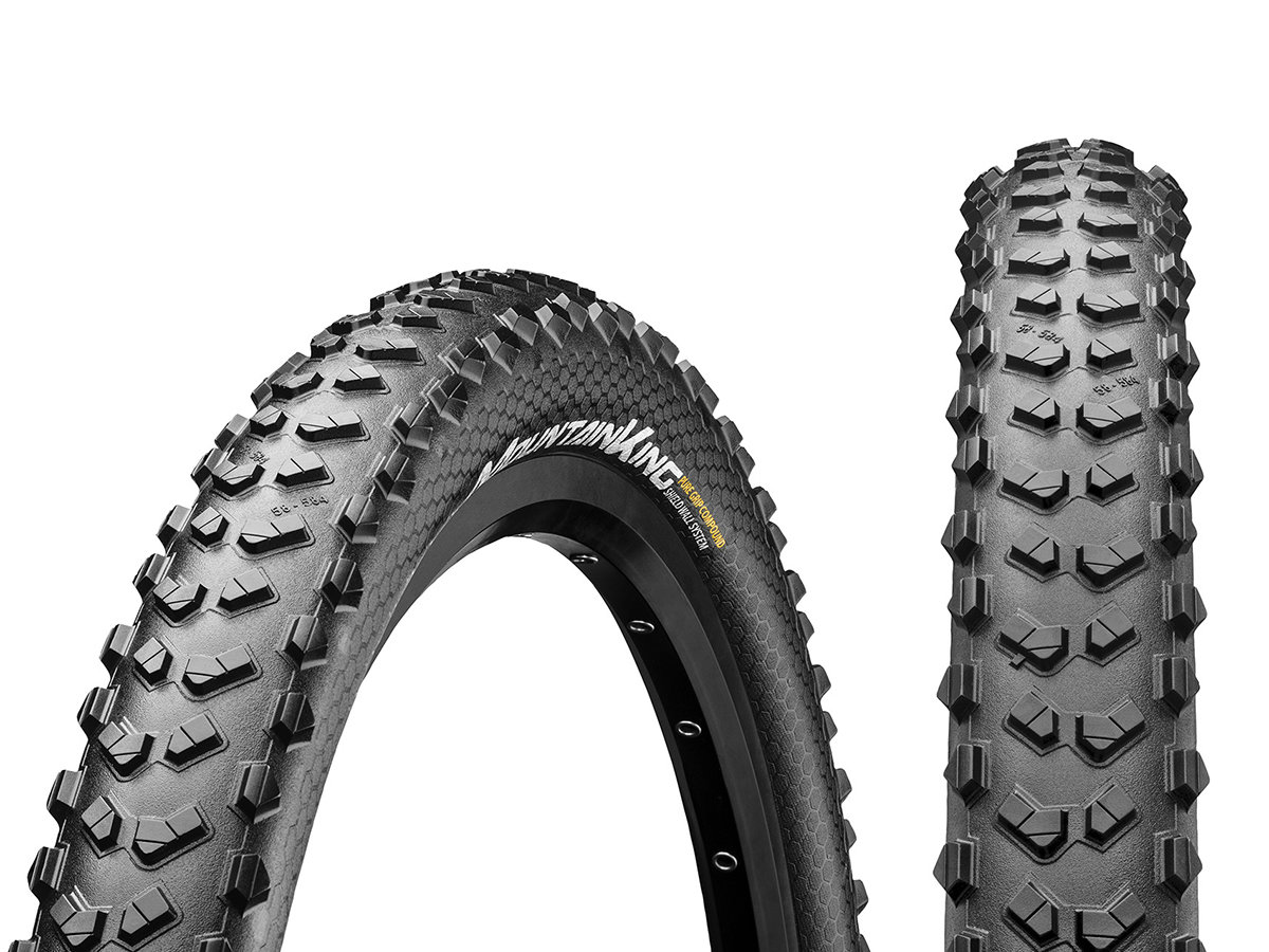 "Покрышка Continental Mountain King 27.5""x2.30, Foldable, PureGrip, ShieldWall 5 Mountain King 150289"