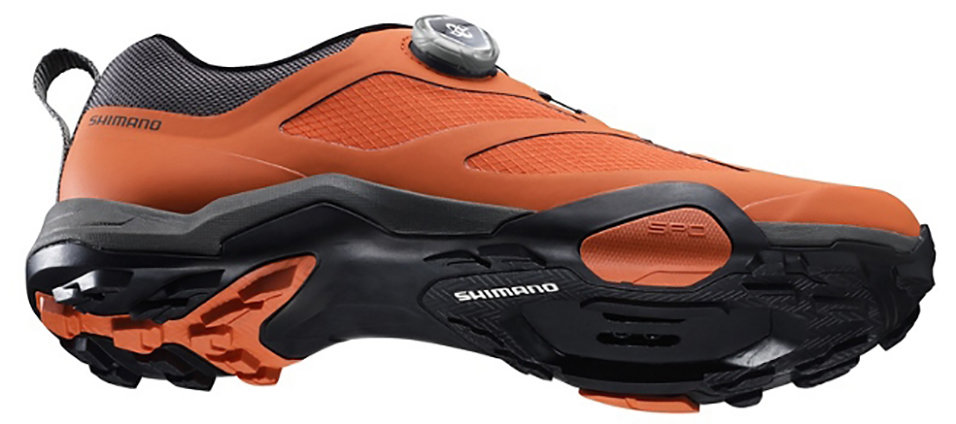 Велотуфли Shimano SH-MT700MR оранжевые 5 SH-MT700 SHMT700MR-EU47