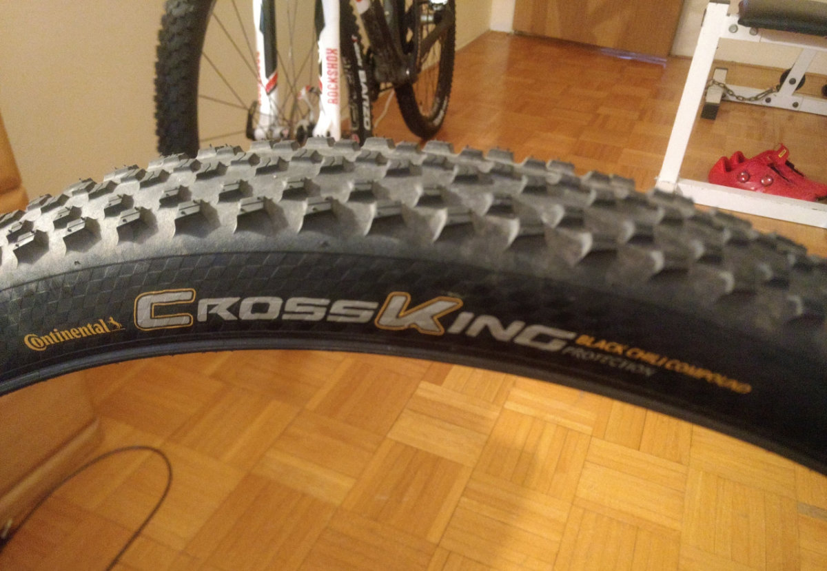 "Покрышка Continental Cross King 29""x2.30, Foldable, PureGrip, ShieldWall System 6 Cross King 150297"