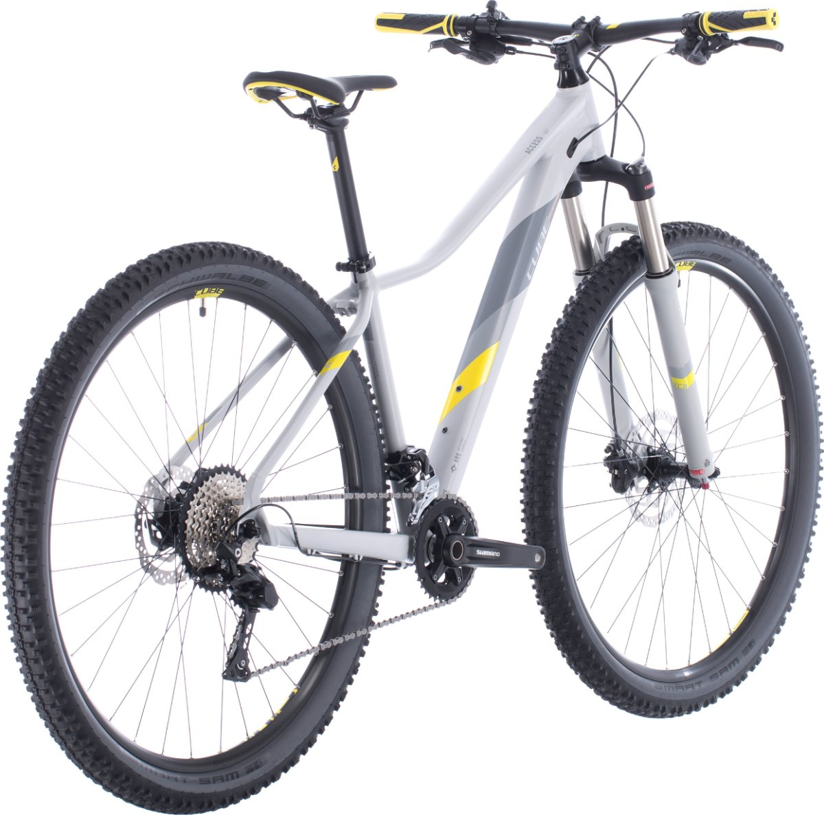 Велосипед Cube Access WS Race grey'n'lime 7 Access WS Race