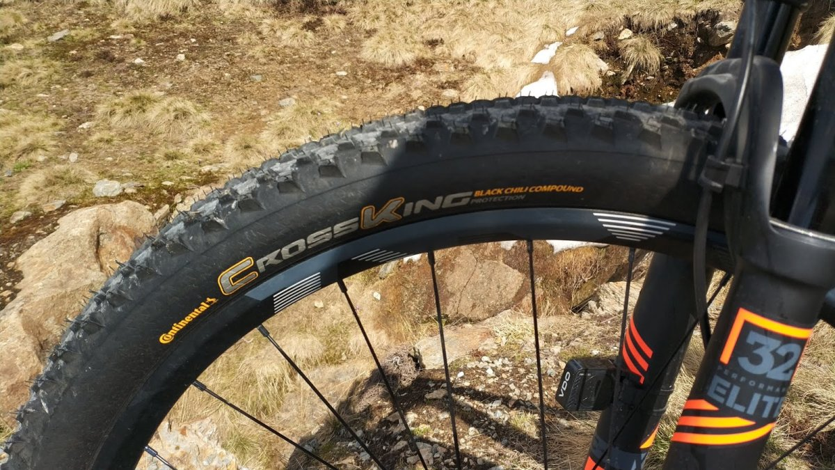 "Покрышка Continental Cross King 29""x2.00, Wire, PureGrip, Performance, Skin 7 Cross King 150306"