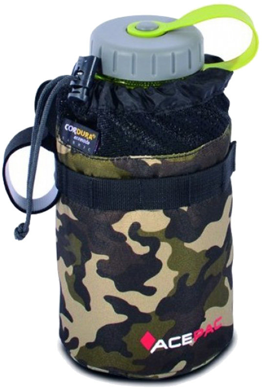 Сумка под флягу Acepac FAT BIKE BOTTLE BAG grey 7 FAT BIKE BOTTLE BAG black ACPC 1113.GRY
