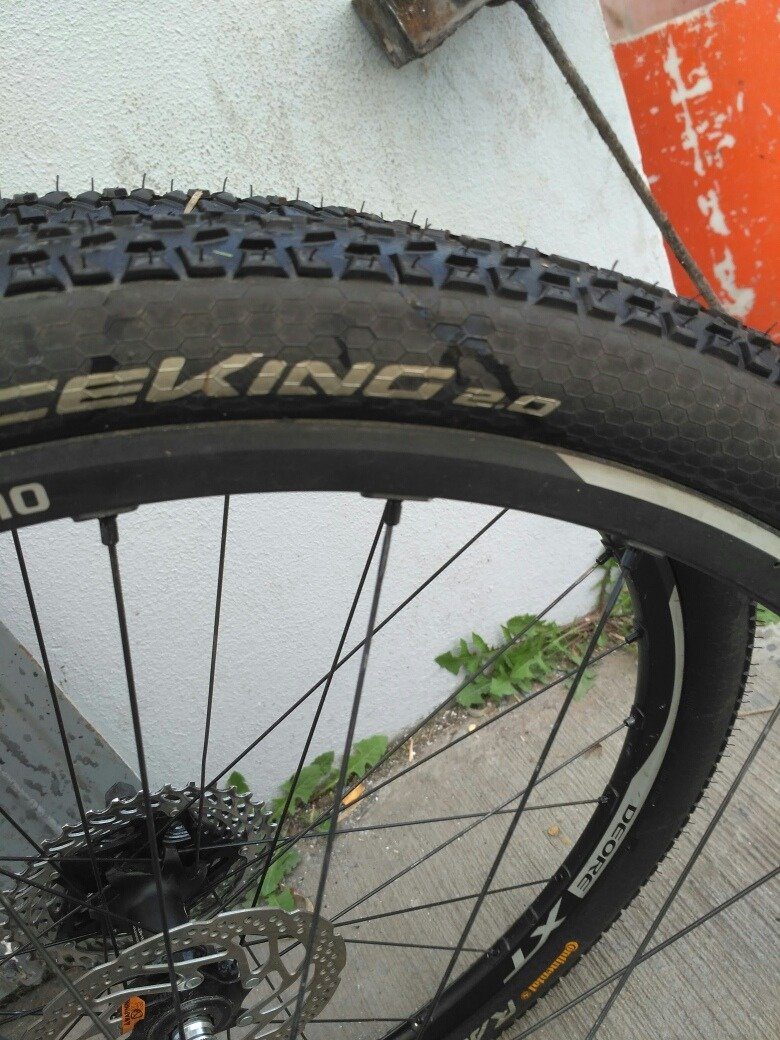 Покрышка Continental Race King 27.5x2,0, Performance, Skin 7 Race King 150158