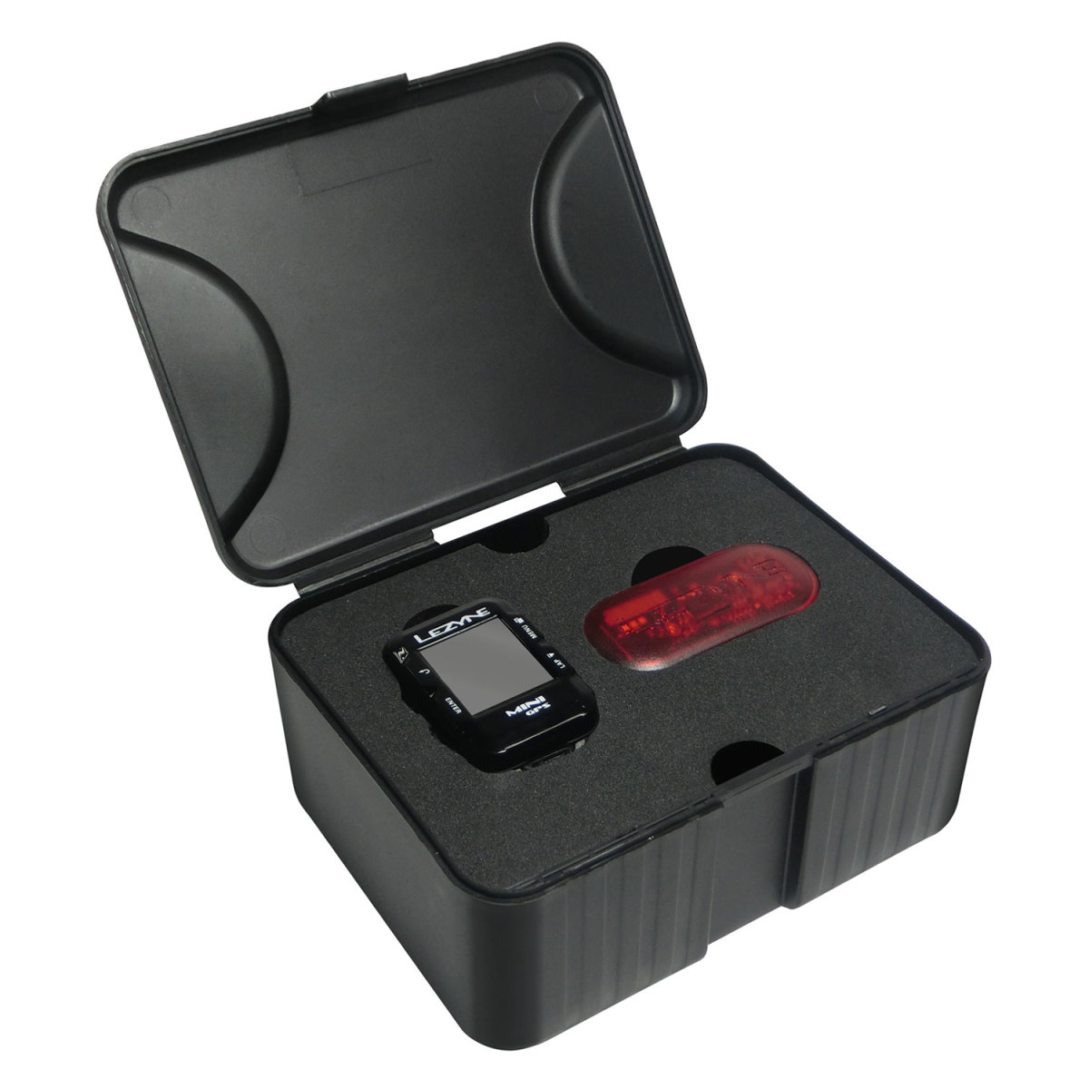 Компьютер Lezyne Mini GPS HR Loaded черный 9 Mini GPS HR Loaded 4712805 987269