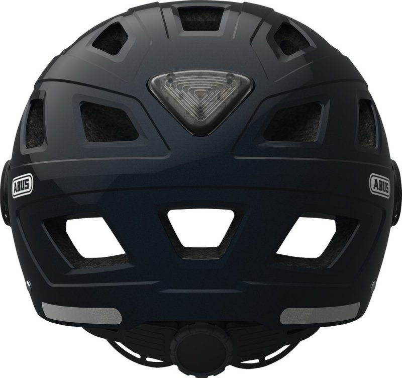 Велосипедный шлем Abus HYBAN+ clear visor midnight blue Abus HYBAN back 726385