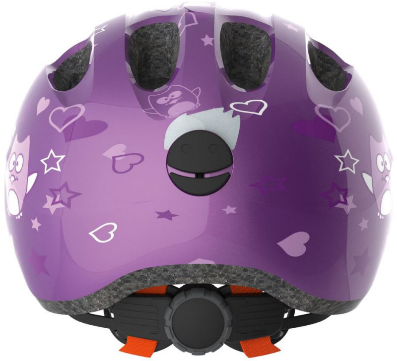 Велосипедный шлем Abus SMILEY 2.0 purple star Abus SMILEY 2.0 back 725685 725692