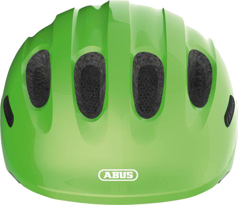 Велосипедный шлем Abus SMILEY 2.0 sparkling green Abus SMILEY 2.0 front 725784