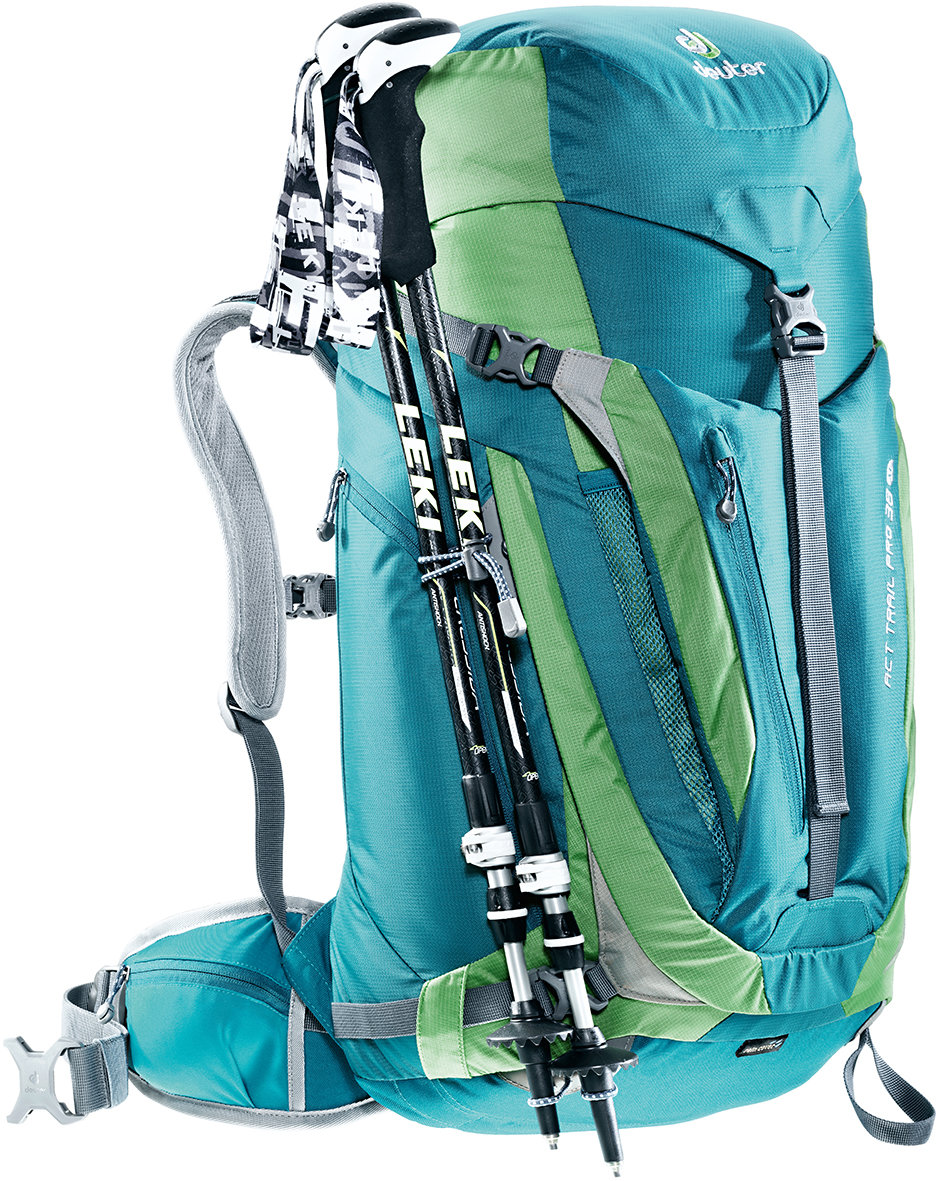 Рюкзак Deuter ACT Trail Pro 40 spring-anthracite (2431) ACT Trail Pro 40 6 3441315 2431