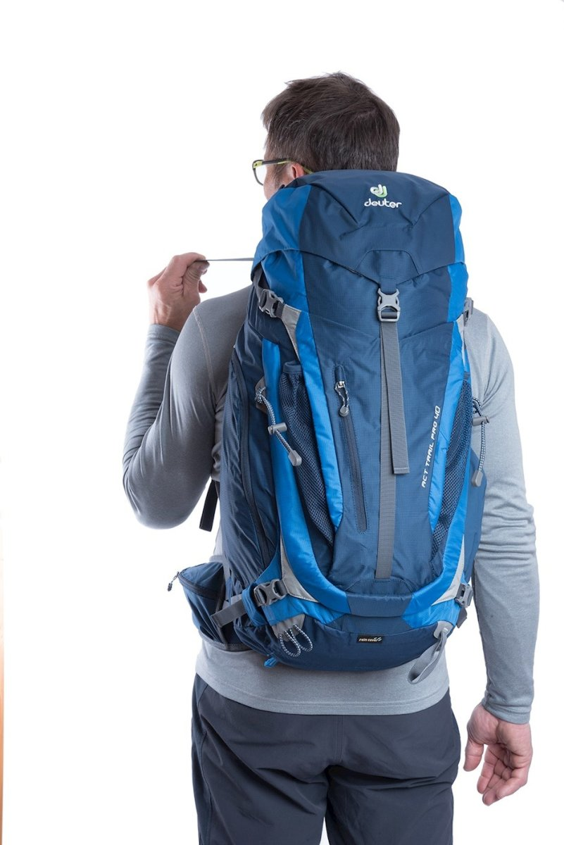 Рюкзак Deuter ACT Trail Pro 40 spring-anthracite (2431) ACT Trail Pro 40 7 3441315 2431