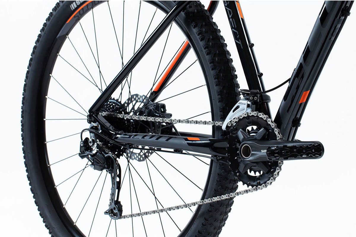Велосипед Scott ASPECT 730 27,5 black-orange ASPECT 730 27,5 crankset