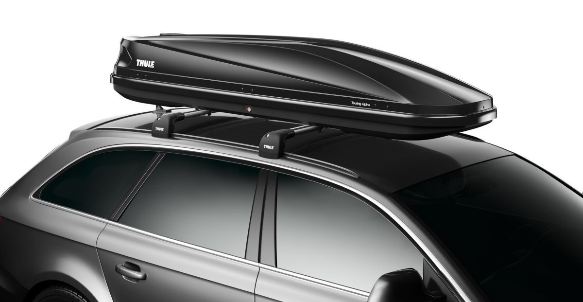Бокс Thule Touring 700 Black Бокс Thule 1Touring 700 Black 1 TH 6347B
