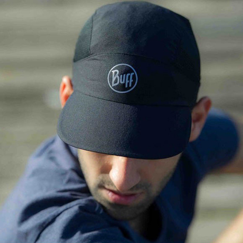 Кепка Buff PACK RUN CAP r-solid blck BU 113702.999.10.00 BU 113702.999.10.00