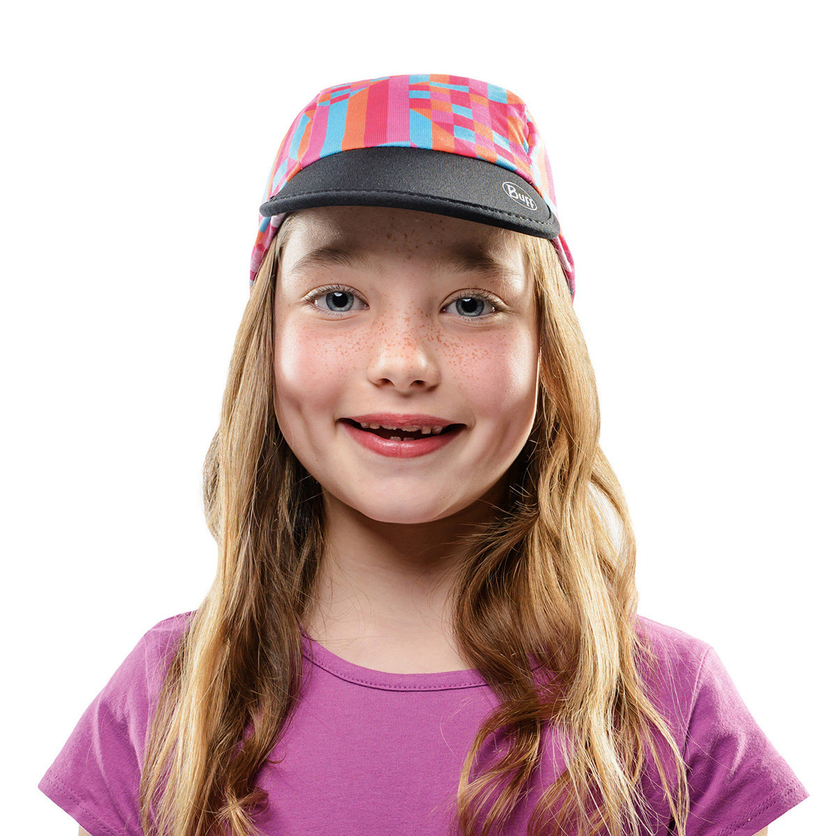 Кепка Buff CAP CHILD icy pink-multi Buff CAP CHILD icy pink-multi BU 117126.555.10.00