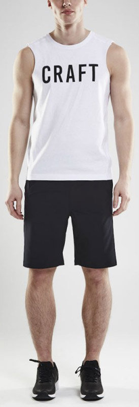 Шорты Craft DEFT SHORTS black Craft DEFT SHORTS black front