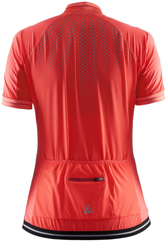 Веломайка Craft GLOW JERSEY W shock-tempo Craft GLOW JERSEY back 1903265-2825-XS 1903265-2825-S 1903265-2825-M