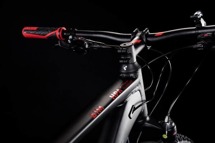 Велосипед Cube AIM RACE 27.5 black-red Cube AIM RACE bar