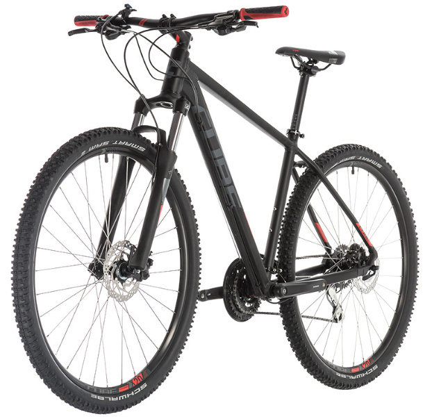Велосипед Cube AIM RACE 27.5 black-red Cube AIM RACE side