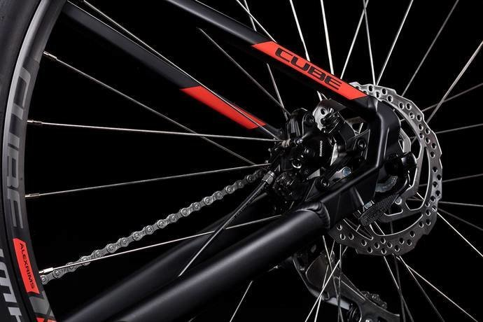 Велосипед Cube AIM RACE 27.5 black-red Cube AIM RACE wheel