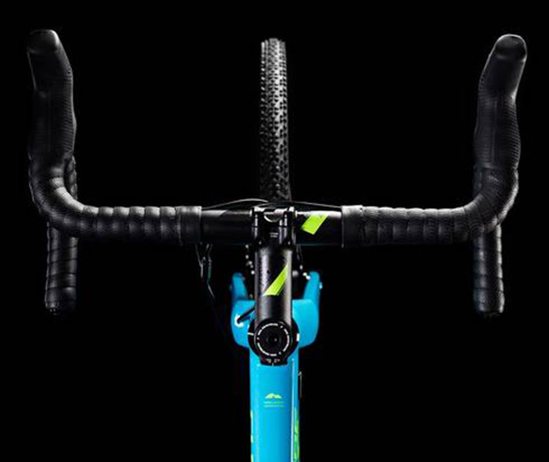 Велосипед Cube CROSS RACE SL blue-green Cube CROSS RACE SL top