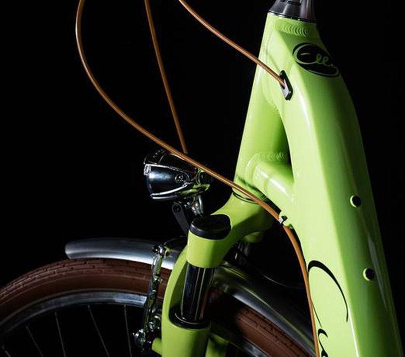 Велосипед Cube ELLY RIDE green-black Cube ELLY RIDE frame