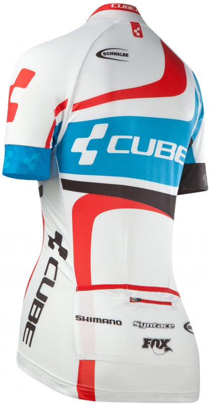 Веломайка Cube JERSEY WLS teamline Cube JERSEY WLS back 11168 11168 11168