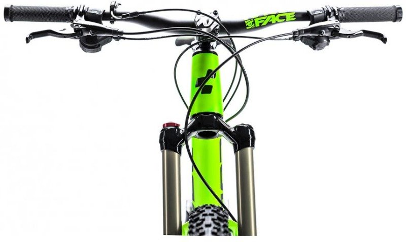 Велосипед Cube STEREO 160 HPA PRO 27.5 green-black Cube STEREO 160 HPA PRO 27.5 handlebar 660200-18