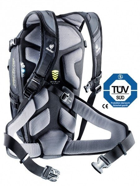 Велосипедный рюкзак Deuter ATTACK 18 SL black Deuter ATTACK 18 SL back