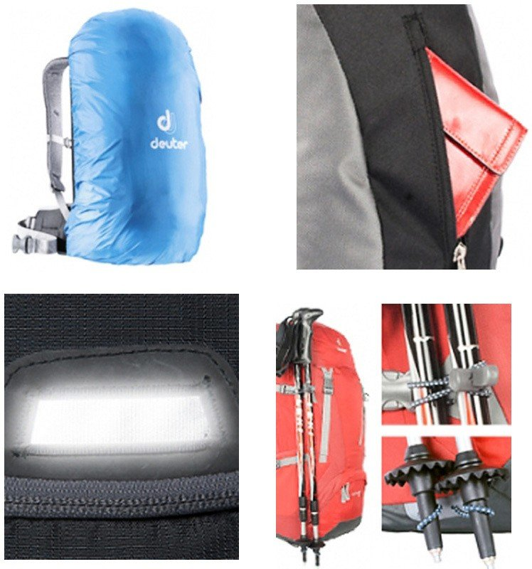 Велосипедный рюкзак Deuter CROSS AIR 20 EXP 2704 spring-black Deuter CROSS AIR 20 EXP  2014