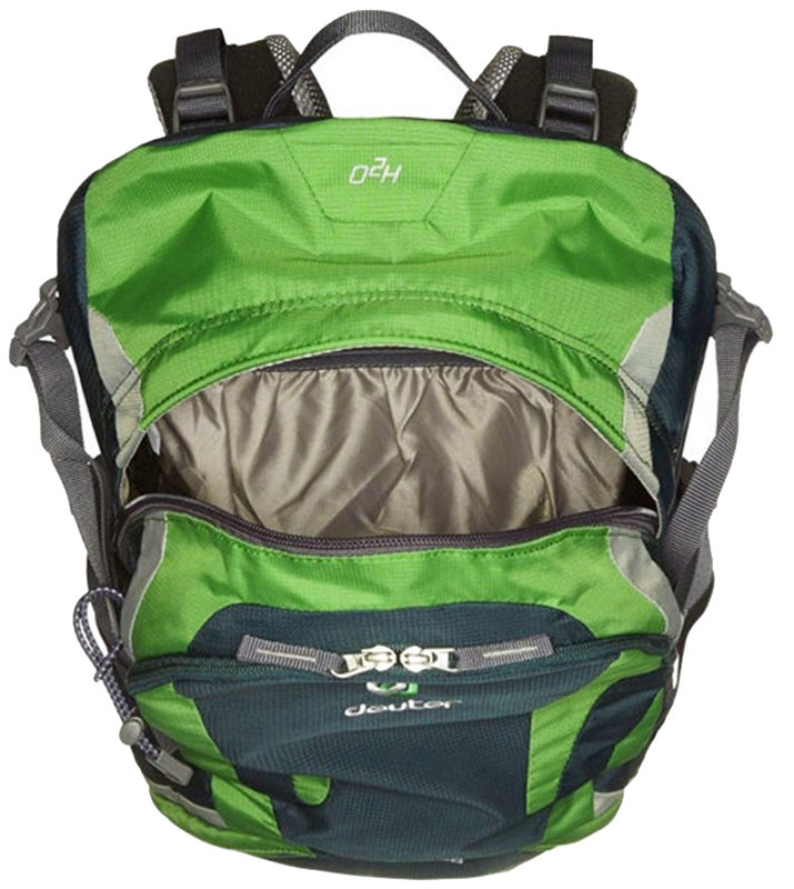 Велосипедный рюкзак Deuter FUTURA 28 forest-emerald Deuter FUTURA 28 open