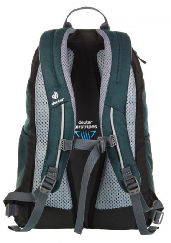 Велосипедный рюкзак Deuter GO-GO forest-kiwi Deuter GO-GO forest-kiwi back 3820016 2225