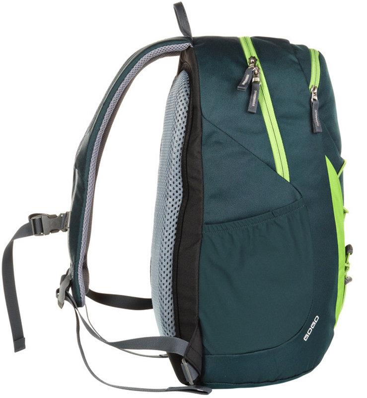 Велосипедный рюкзак Deuter GO-GO forest-kiwi Deuter GO-GO forest-kiwi side 3820016 2225
