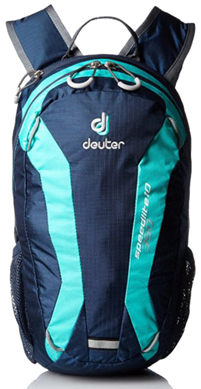 Велосипедный рюкзак Deuter SPEED LITE 10 midnight-mint Deuter SPEED LITE 10 midnight-mint front 33101 3218