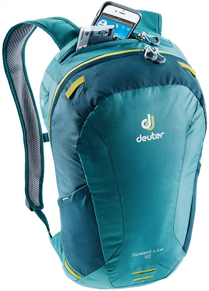Велосипедный рюкзак Deuter SPEED LITE 16 petrol-arctic Deuter SPEED LITE 16 Pocket 3410118 3325