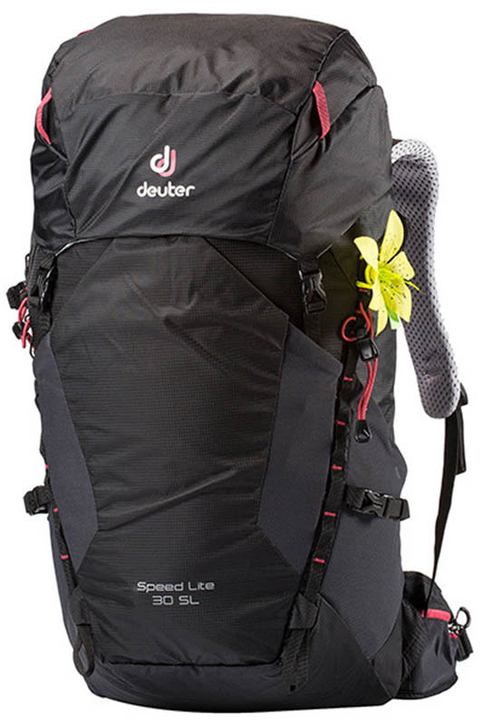 Велосипедный рюкзак Deuter SPEED LITE SL 30 black Deuter SPEED LITE SL 30 black front 3410718 7000