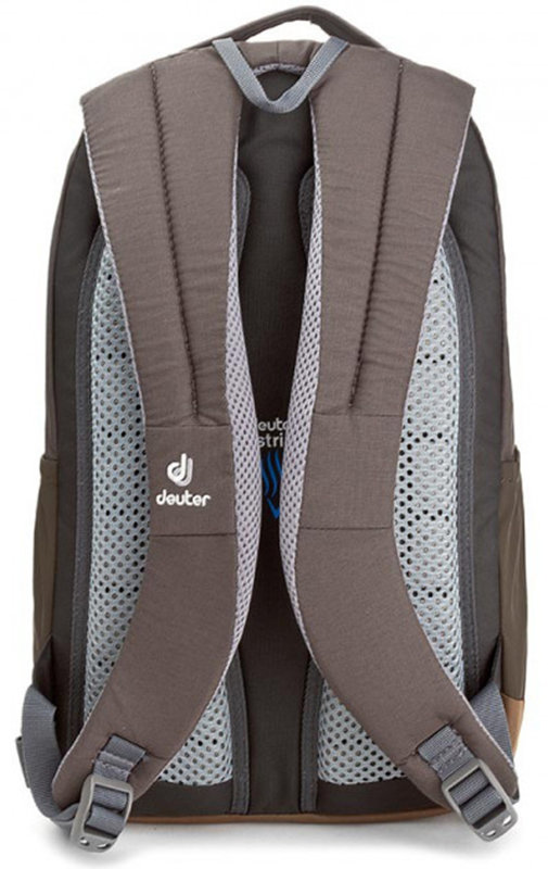 Рюкзак Deuter STEPOUT 16 arctic-coffee Deuter STEPOUT 16 arctic-coffee back 3810315 3621