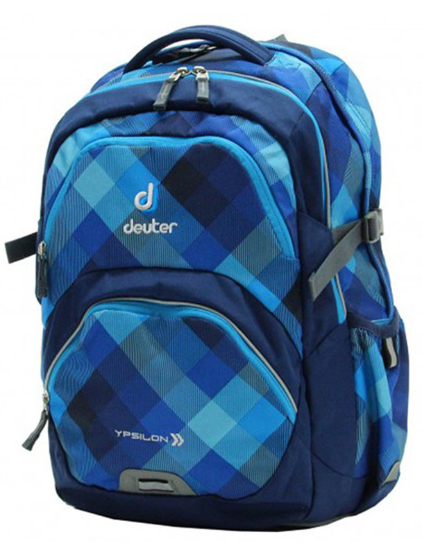 Детский рюкзак Deuter YPSILON blue crosscheck Deuter YPSILON blue crosscheck front