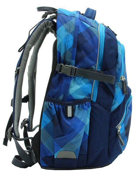 Детский рюкзак Deuter YPSILON blue crosscheck Deuter YPSILON blue crosscheck side