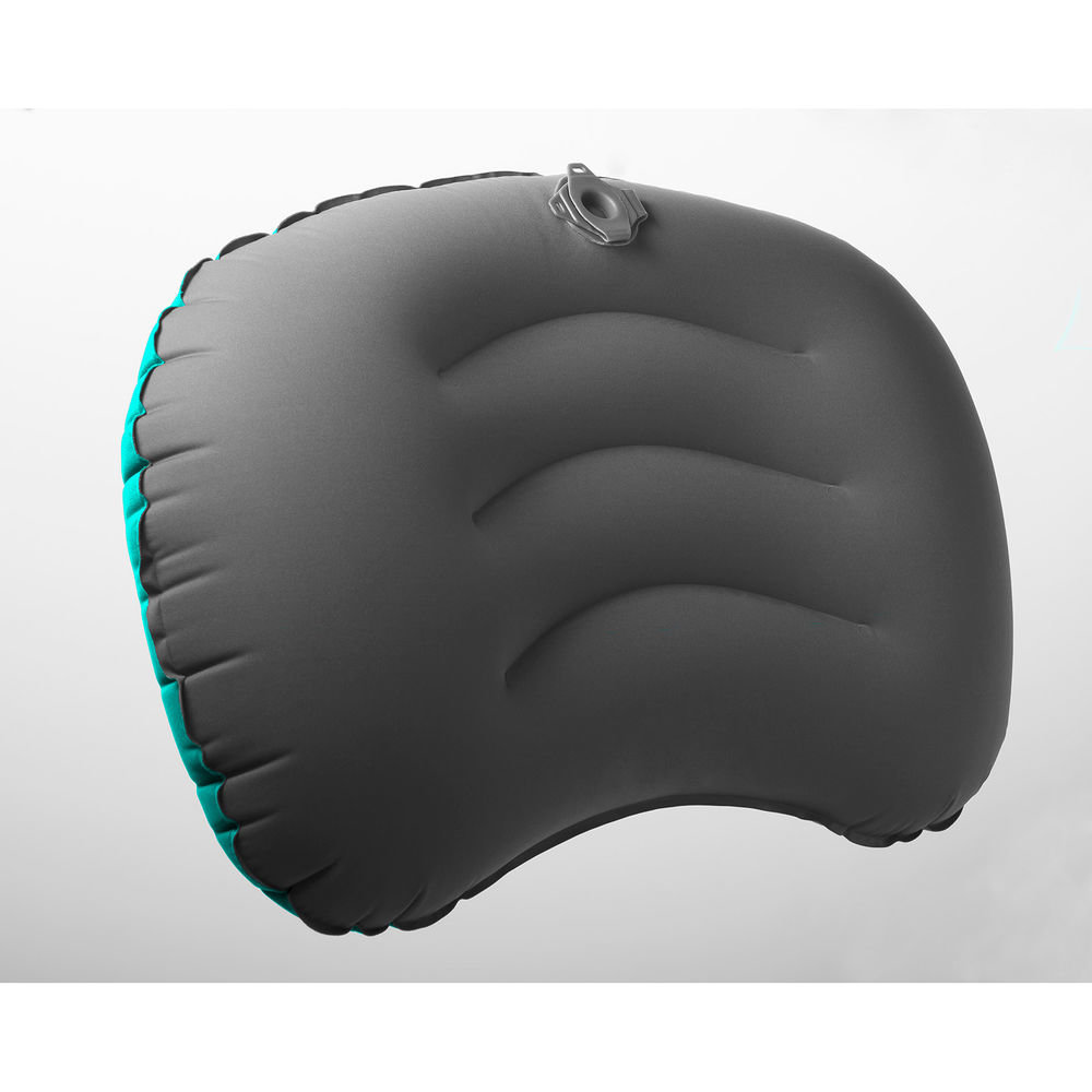 Подушка надувная Sea to Summit Aeros Ultralight Pillow Large teal/grey другой ракурс-1